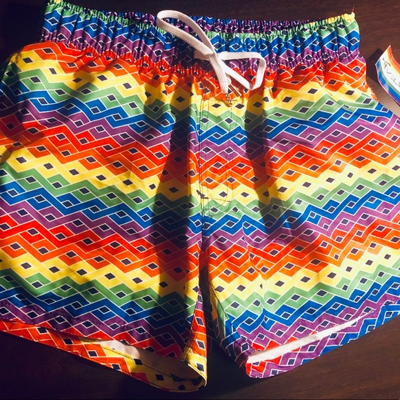 a782eed920 2xist Swim   Pride Evolve Rainbow Knit Trunk Nwt   Poshmark